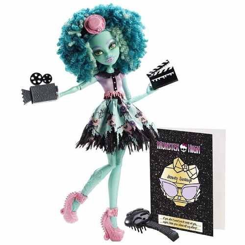 Monster High - Monstros, Câmera, Ação - Honey Swamp Mattel - R$ 149,99 no Mercado Livre.