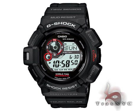 G-Shock Mudman Solar I really love all of these G Shocks, they're so neat.