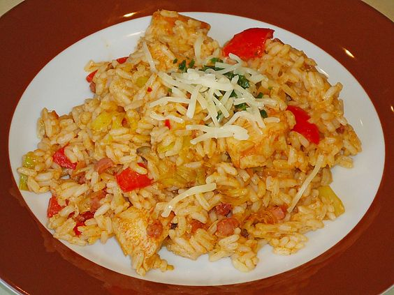 Reisfleisch mit Hühnchen und Gemüse (Rezept mit Bild) | Chefkoch.de