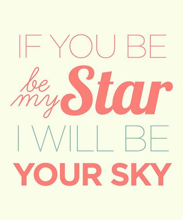 Take a look at this 'Be My Star' Wall Sign by Addie & Clover on #zulily today!