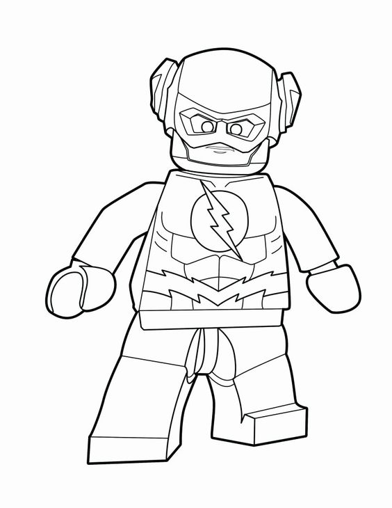 27 The Flash Coloring Book Lego Coloring Pages Superhero