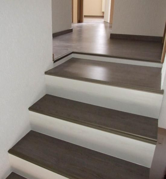 Maytop tiptop habitat habillage d escalier r novation for Peindre plinthe carrelage