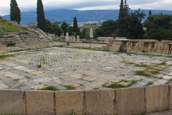 Acropolis at Athens - Theater of Dionnysius