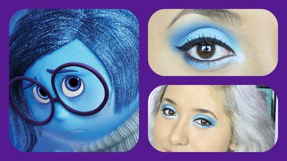DISNEY'S Pixar Inside Out 'Sadness' INSPIRED Makeup Tutorial