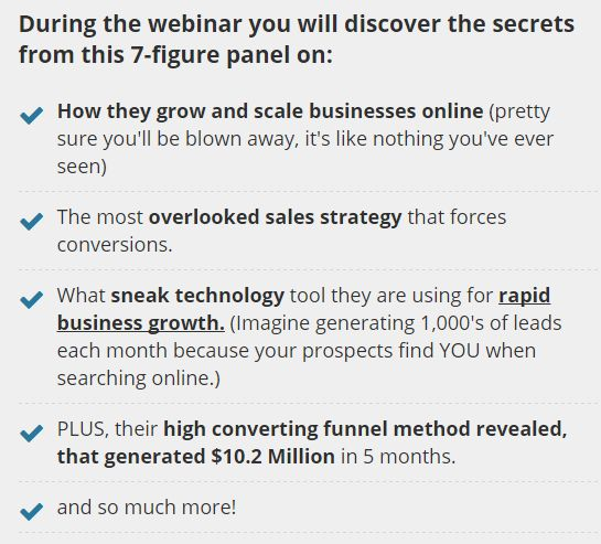 FREE WEBINAR  Grow and scale your business