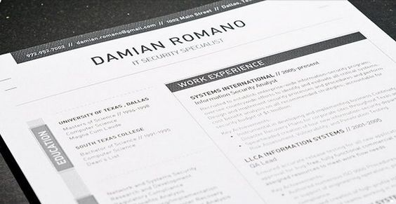 The 41 Best Resume Templates Ever SCRAPBOOK Pinterest Resume - resume builder templates