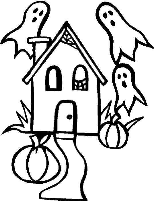 Disegni Di Halloween Da Stampare E Colorare Disegni Di Halloween Pagine Da Colorare Halloween