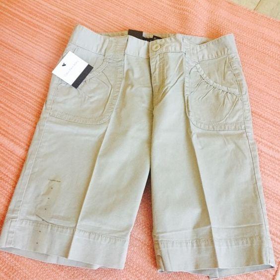 NWT Calvin Klein khaki shorts. Cute cotton shirts from Calvin Klein. Calvin Klein Shorts
