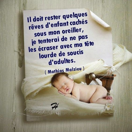 Citations option bonheur: Citation sur les rêves d'enfants