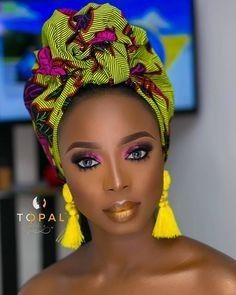 Ankara Head-wraps - Fashion Ruk