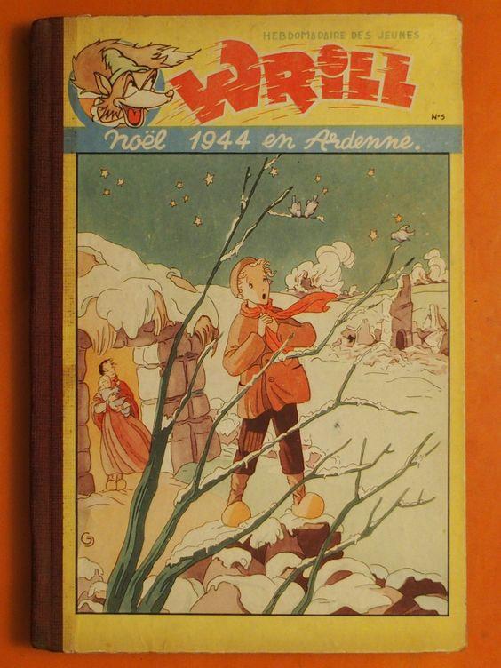 Wrill Album N° 5 Noël 1944 EN Ardenne DU N° 60 AU 72 DE 1946 Gordinne Fils | eBay
