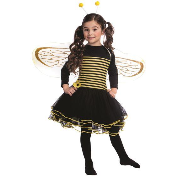 Dress Up America Girls' Bumblebee /Yellow Dress                              …