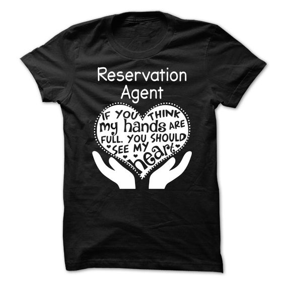 Reservation Agent T-Shirts, Hoodies. Get It Now ==► https://www.sunfrog.com/LifeStyle/Reservation-Agent-87091817-Guys.html?41382