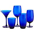 Thinking I need some blue in my life......Cobalt Stemware