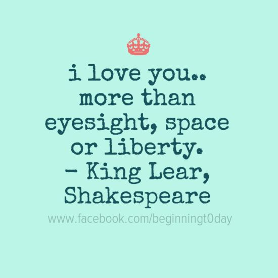 I Love You More Than Poems: I Love You.. More Than Eyesight, Space Or Liberty.