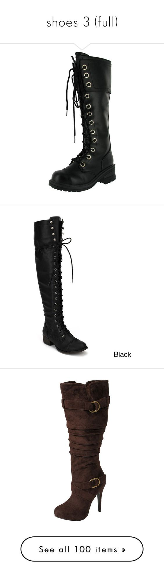 """""""shoes 3 (full)"""" by gone-girl ❤ liked on Polyvore featuring shoes, boots, army military boots, military style boots, laced combat boots, military style combat boots, combat boots, tory burch, botas and genuine leather boots"""