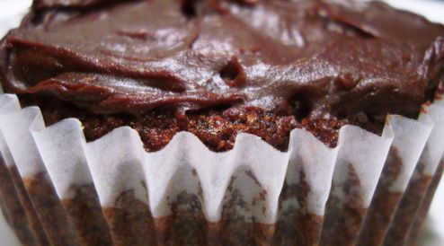 Paleo Chocolate Cupcakes.....Yum!