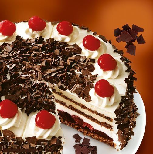 German Black Cherry Cake