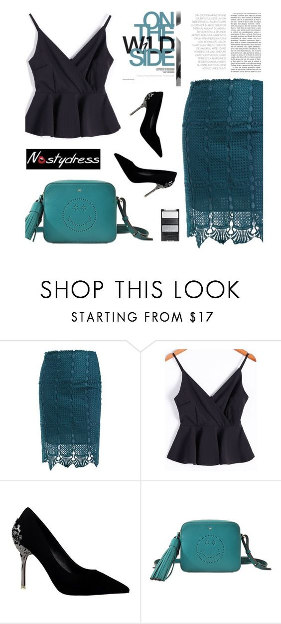 """""""Nastydress 33/4"""" by merima-kopic ❤ liked on Polyvore featuring Anya Hindmarch and nastydress"""