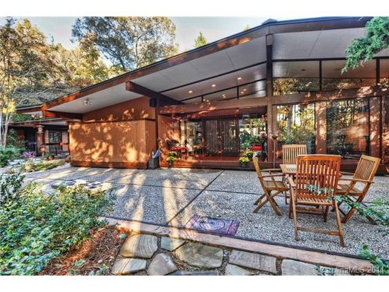 beautiful mid century modern home for sale in charlotte nc beautiful mid century modern