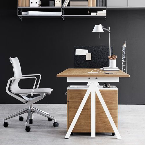 Creative And Functional Work Desk Soft Office By Gsign Studio