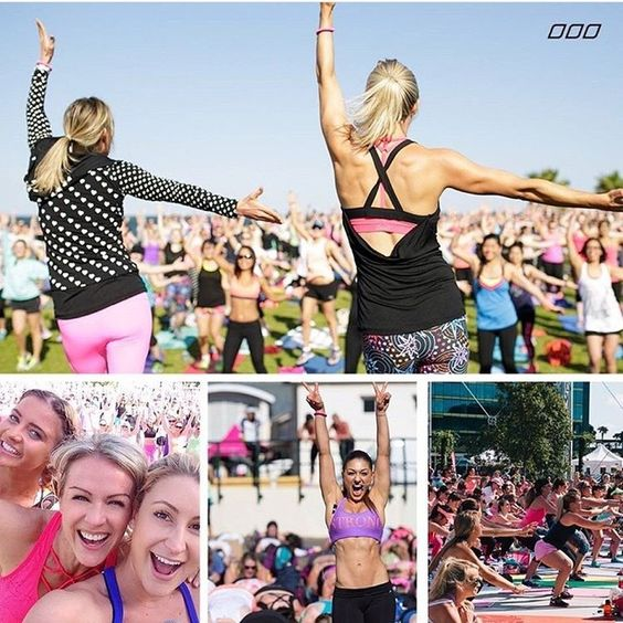 OMG ... Just one more sleep till Active Nation Day!!!! Workout with me in Sydney at Dockside Pavillion and let's show the world that we are the fit nation we say we are xx looking forward to meeting everyone, signing books and taking a few selfies ... See you there Lx all of the details are on www.activenationday.com.au