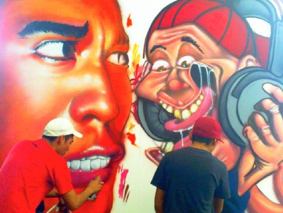 Graffitti Make Off. Original