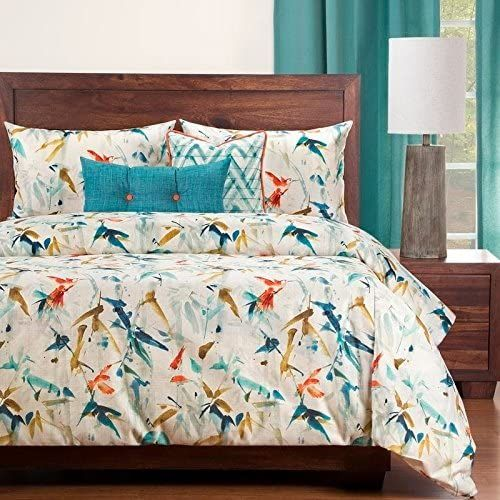 6 Piece Cal King Gorgeous Elegance Animal Print Pattern Duvet Cover Set Contemporary Allover Beautiful Duvet Cover Pattern Duvet Cover Sets Best Duvet Covers