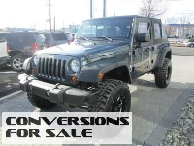Lifted 2008 Jeep Wrangler Unlimited X