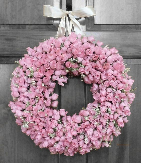 Beautiful Spring Wreaths And Summer Wreath On Pinterest