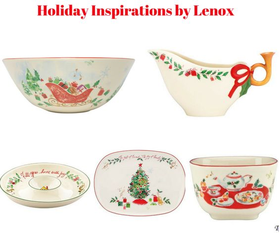 Holiday Inspirations Serveware by Lenox