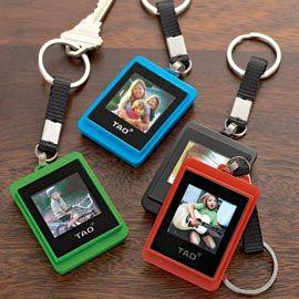Digital photo keychains...