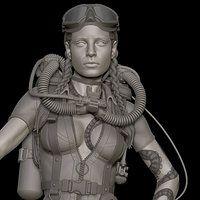 ArtStation - Catwoman, Will Harbottle
