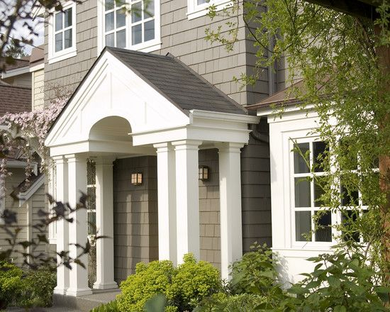 PEDIMENT over Front Door See my New Home Design Checklist at