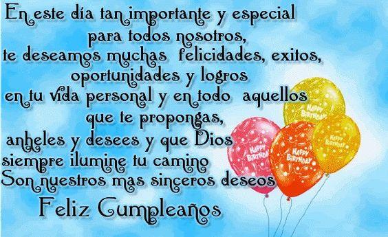 Sinceros deseos