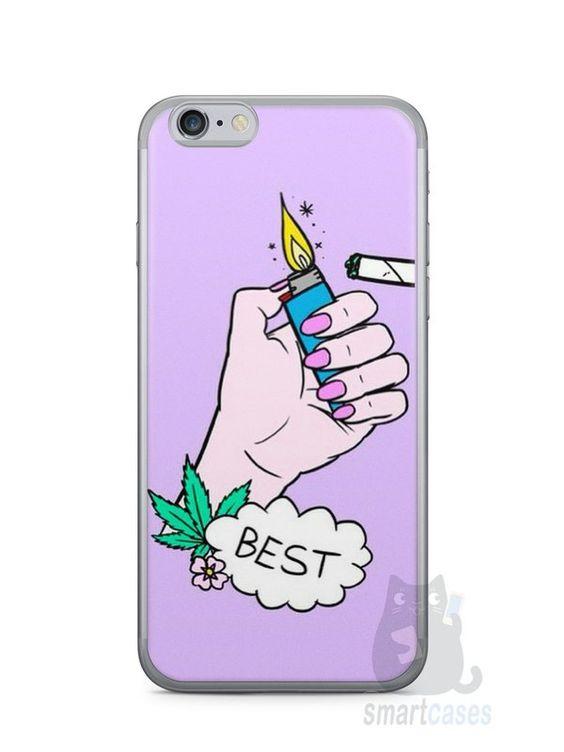 Capa Iphone 6/S Melhores Amigos Fumando - SmartCases - Acessórios para celulares e tablets :)