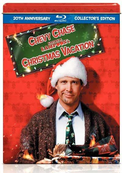 20th Anniversary Dvd Tin Of National Lampoons Christmas