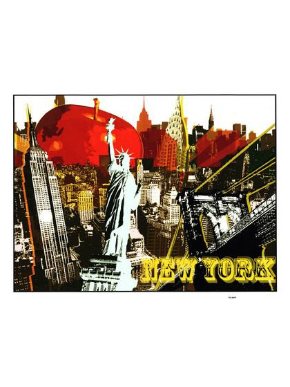 The Big Apple by Crystal Dunn (Unframed) by Epic Art at Gilt