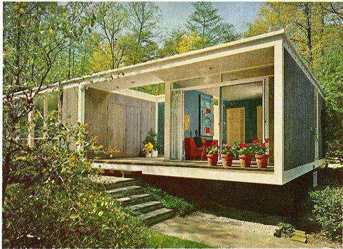 Mid century design, House facades and Mid century on Pinterest