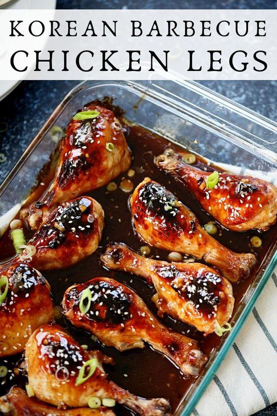 Korean BBQ Chicken Legs