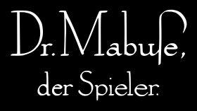 Dr Mabuse, der Spieler Logo 001.svg