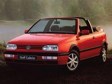 Volkswagen Golf Cabrio (1993 – 1997). mk3