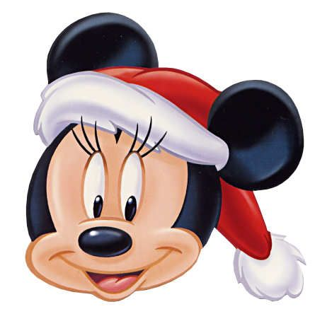 Noel papa noel and navidad on pinterest - Minnie mouse noel ...