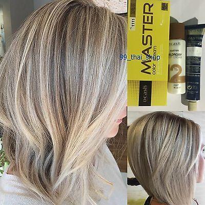 Dcash Master Light Blonde Ash Gray Reflect Color Cream Hl1111