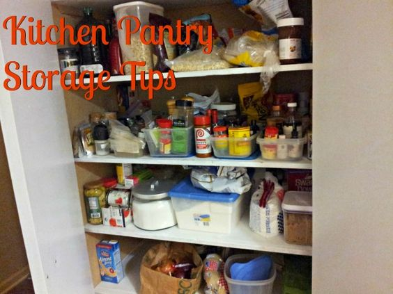 Ideas cheap storage and kitchen pantry storage on pinterest for Cheap kitchen organization ideas