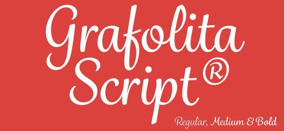 Grafolita Script font by Rui Abreu is a warm and casual ...