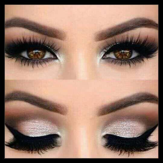 Sencillo Maquillaje Natural Para Usar Todos Los Dias Muy Facil Soy Moda Maquillaje De Ojos De Noche Maquillaje De Ojos Maquillaje Para Ojos Cafes