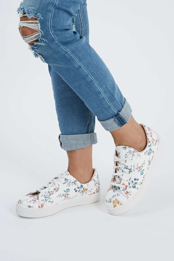CYPRUS Floral Trainers