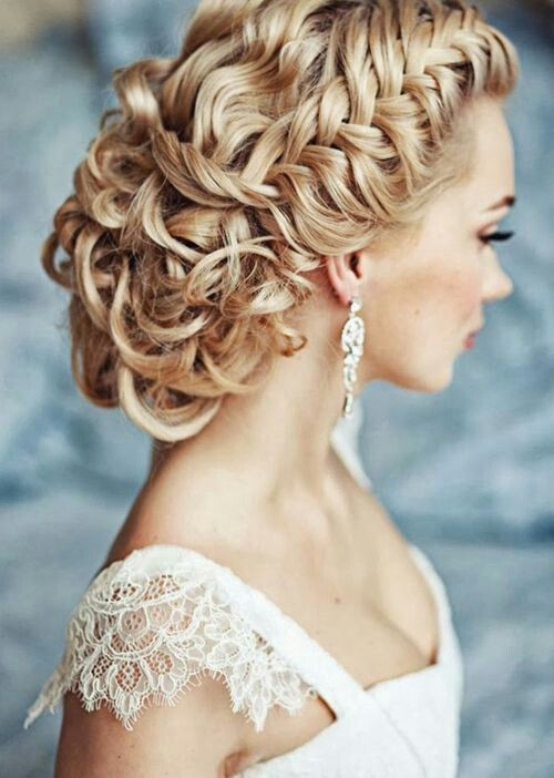 Sensational Curly Hairstyles Updo And Braids On Pinterest Hairstyle Inspiration Daily Dogsangcom