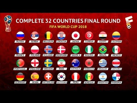 Fifa World Cup 2018 Final Draw Result And Guide To The Finals In Russia Youtube World Cup Fifa World Cup Fifa